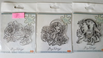 3 clear stamps Ay Design