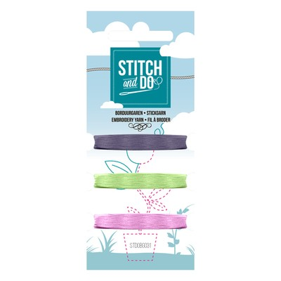 1 x stitch en do 3 kleuren kaart