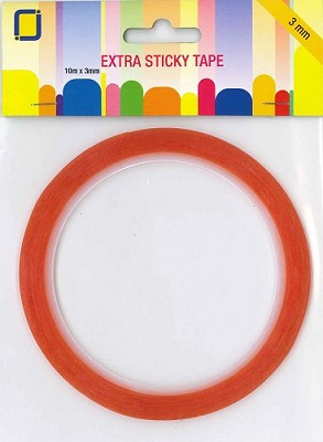 Extra sticky tape 3 mm outer box